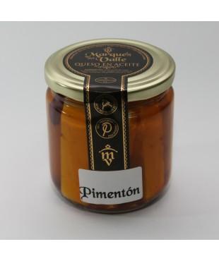 Queso en Aceite con Pimentón